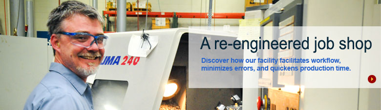 Our facility facilitates workflow, minimizes errors, & quickens production time